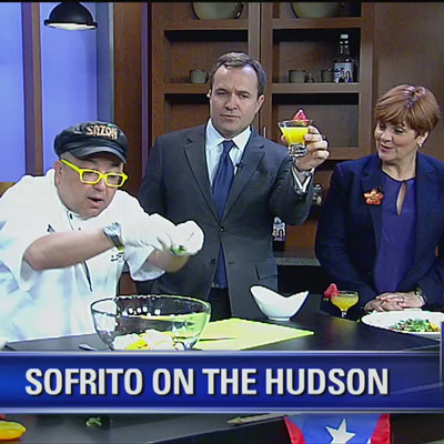 Fox Interviews Chef Frank of Sofrito on the Hudson